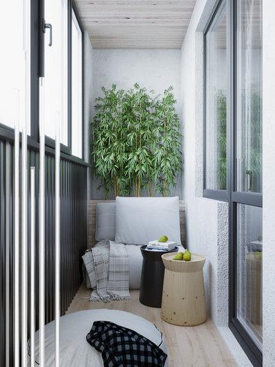 Modern Balkon by Bellas Artes