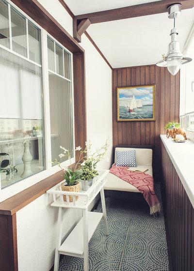 Современный Балкон и лоджия by olga busorgina