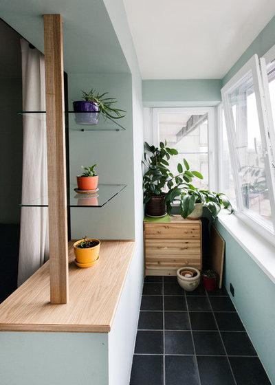 Современный Балкон и лоджия by Нина Фролова