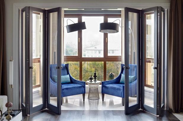 Современный Балкон и лоджия by MARION STUDIO