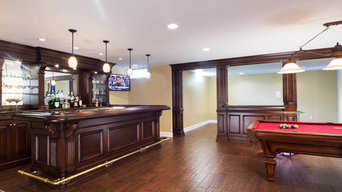 Basement Home Bar
