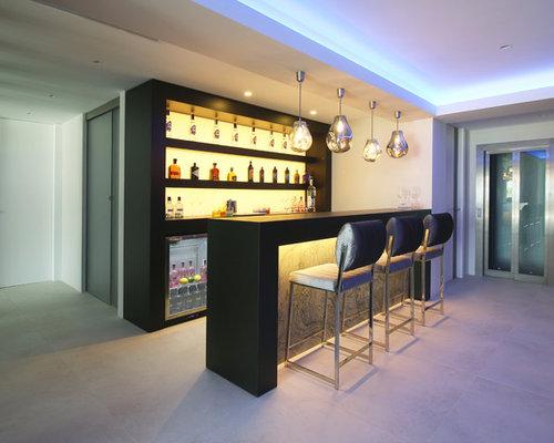 fotos de bares en casa dise os de bares en casa modernos On bar casa minimalista