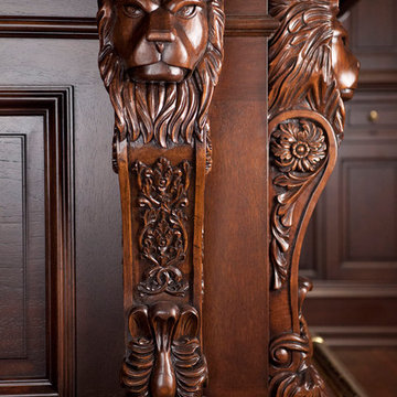 Traditional Carved Bar