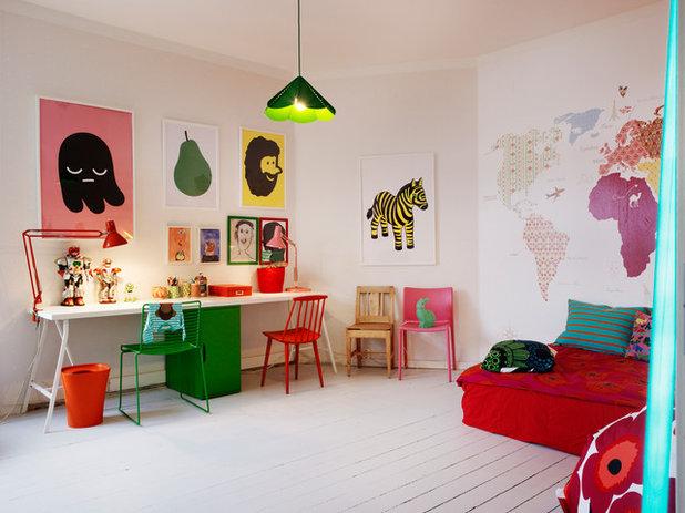 Eklektisk Børneværelse by Myrica Bergqvist Interior Stylist/Decorator