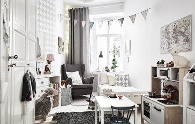 Kleine Kinderzimmer einrichten: Tipps für Stauraum und Aufteilung