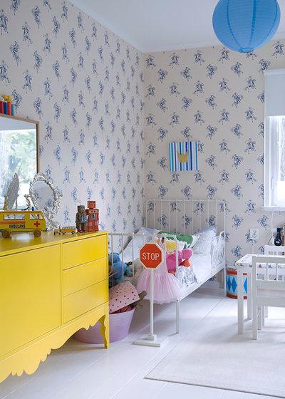 Eklektisk Børneværelse by Fotograf Magdalena Björnsdotter