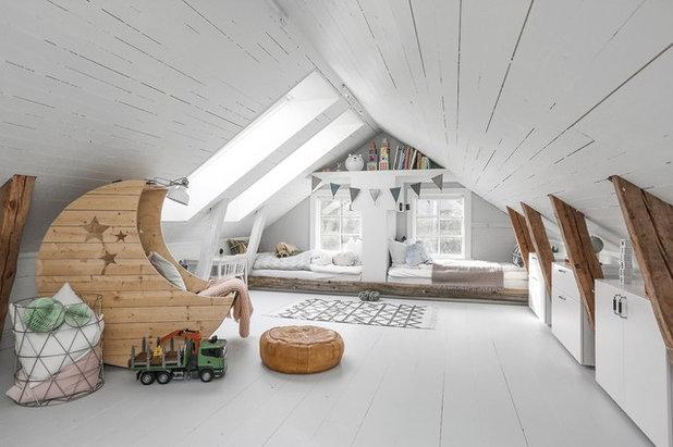 Skandinavisk Børneværelse by Fastighetsbyrån