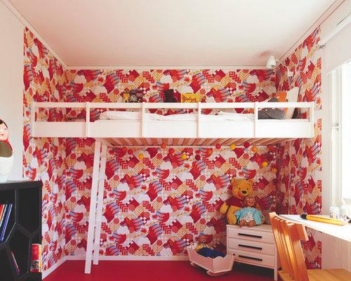 Skandinavische kinderzimmer mit vinylboden ideen design for Skandinavische kinderzimmer