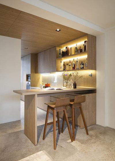 Contemporary Home Bar by Supercraft Studio | Architecte d'intérieur