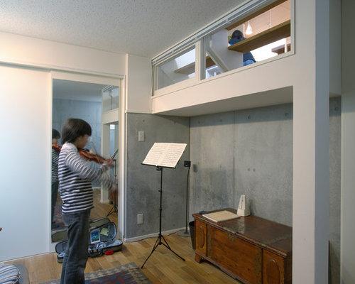 photos et id es d co de sous sols asiatiques semi enterr s. Black Bedroom Furniture Sets. Home Design Ideas