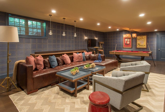 Transitional Basement by Brendon Properties