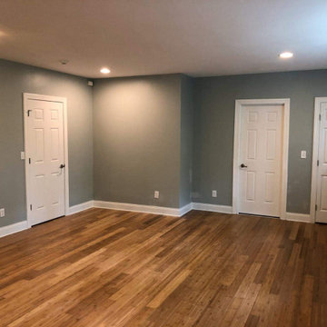 15th St. Contemporary Basement Remodel