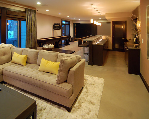 painted floors home design ideas pictures remodel and decor. Black Bedroom Furniture Sets. Home Design Ideas