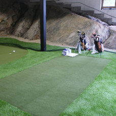 Eclectic Basement by Synthetic Turf International of Canada