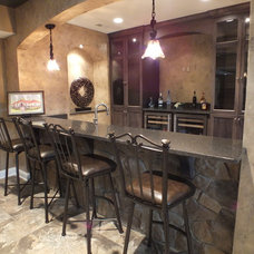 Traditional Basement by Otero Signature Homes