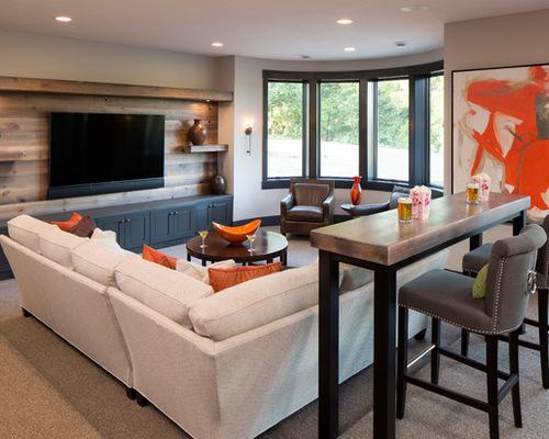305 artisan basement design photos - Basement Design