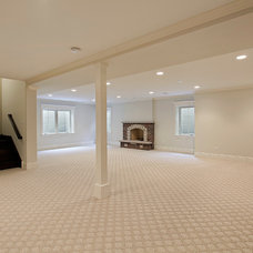 Traditional Basement by Danko Group Corporation