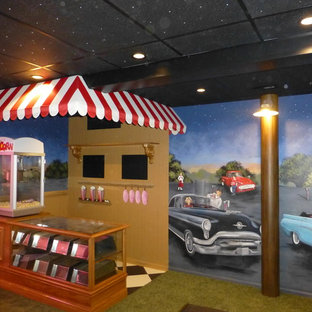 50's Drive - In Theater Room