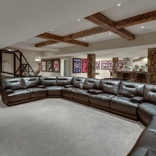 A basement for any sporting event