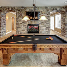 Traditional Basement by Wolford Building & Remodeling