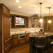 Traditional Basement by King's Court Builders, Inc.