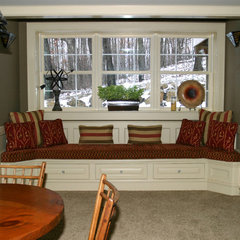 traditional basement by Trim carpentry