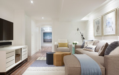 Push it Up: Ways to Visually Lift a Low Ceiling