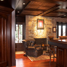 Traditional Basement by Dennis Foote