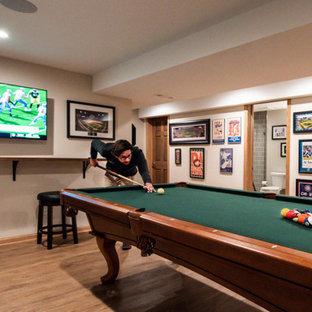 All Fun & Games – Orland Park Basement Retreat
