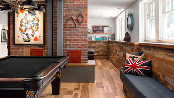 All In the Family - Industrial Recreation Room