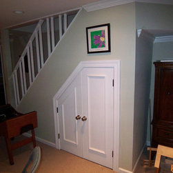 Under Stair Storage Basement Design Ideas, Pictures, Remodel and Decor