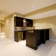 Contemporary Basement by Distinctive Living