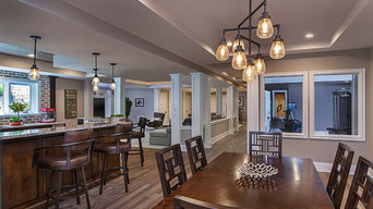 Architecturally Detailed Basement
