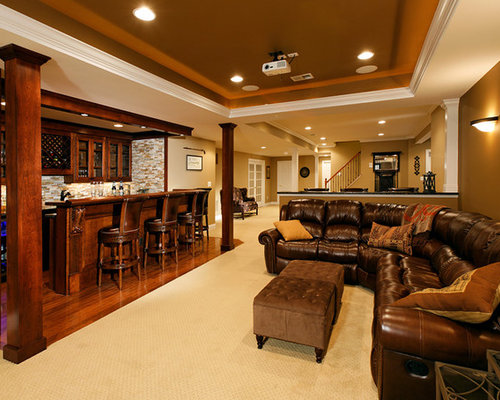 1800 Square Feet Basement Design Ideas Renovations Photos
