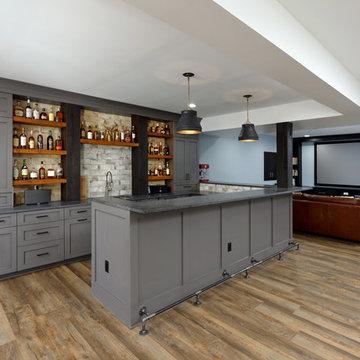 Ashburn Whiskey Collector's Bar & Basement