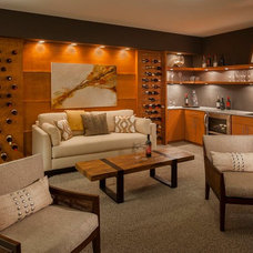 Traditional Basement by Ashton Woods