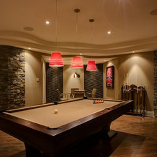 Traditional Basement by Just Basements