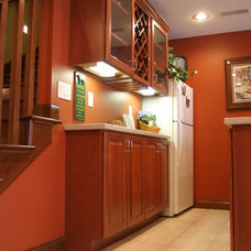 Traditional Basement by Kitchen Fair