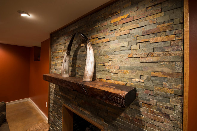 rustic finished basement ideas Quotes