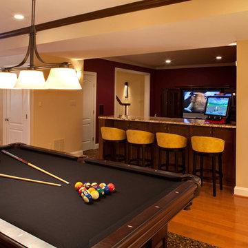 Bar, Billiards, Movie Room