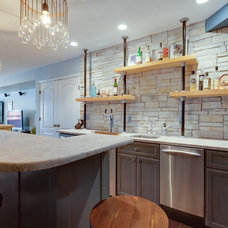 Contemporary Basement by Reico Kitchen & Bath
