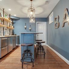 Contemporary Basement by Reico Kitchen & Bath