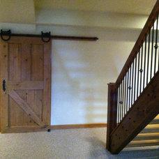 Farmhouse Basement by Edmund Terrence, LLC