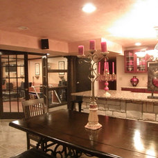 Traditional Basement by ReMarkable Remodel and Design
