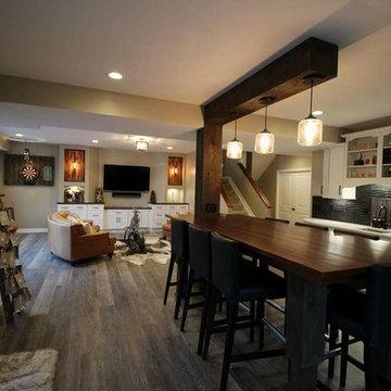 Basement & Deck Remodel in Powell, Ohio