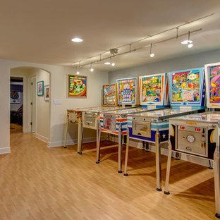 Basement Arcade Game Room