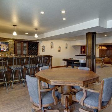 Basement Bar and Table Game Room