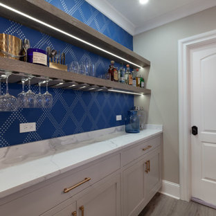 Basement Bar Cabinetry in Hinsdale, Illinois