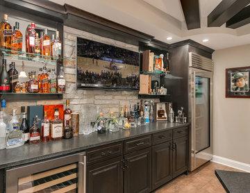 Basement Bar Counter