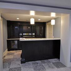 Basement by Highmark Builders